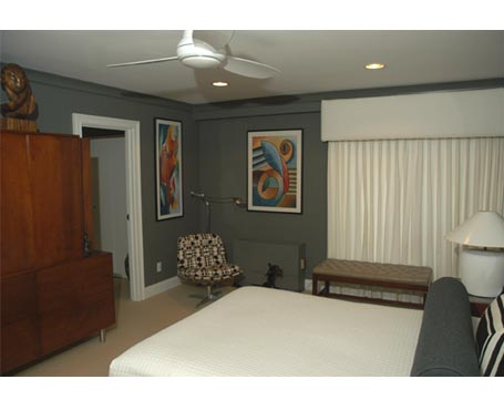 trim bedroom