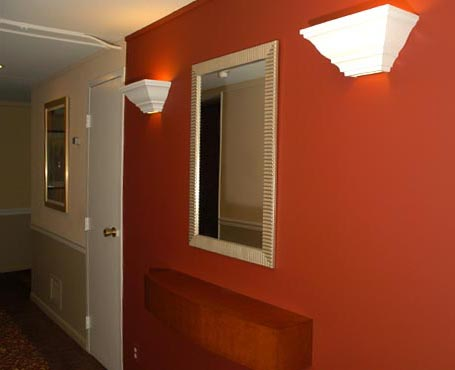 sconces maroon