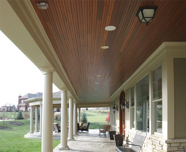 Exterior renovations by deming remodeling for Balcony ceiling