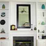 fireplace-white-single-shelves