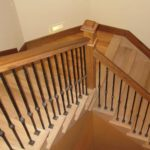 staircase-downward-wood