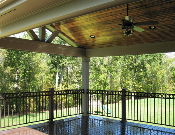 Big Covered Deck