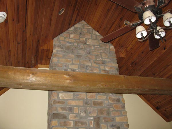 fireplace ceiling