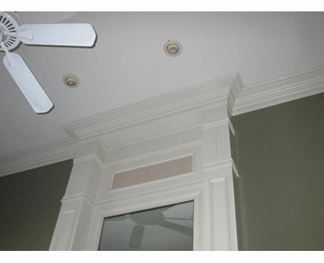 white fireplace ceiling