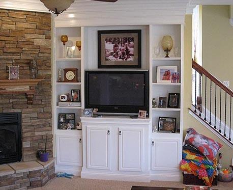 Fireplace Shelving Tv