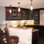 basement-glass-cabinet-counter