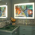 bathroom-with-stones-backsplash