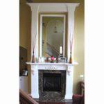mantel-white-fireplace