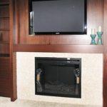 tv-wall-stucco-fireplace