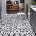 black-white-kitchen-floor