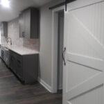 basement-gray-barn-door