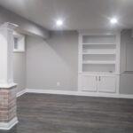 basement-gray-walls-column