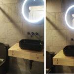 black-toilet-lighted-mirrors