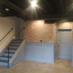 half-wall-basement-stairs
